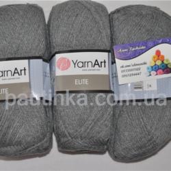 Пряжа Ярнарт Элит - YarnArt Elite темно-серый 29