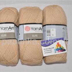 Пряжа Ярнарт Элит - YarnArt Elite 805 бежевый