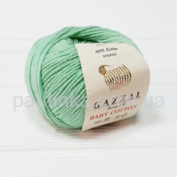 Gazzal Baby Cotton (Газзал беби коттон) 3425 мята
