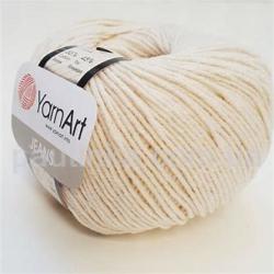 Yarn Art Jeans (Джинс Ярнарт) 05 натуральный
