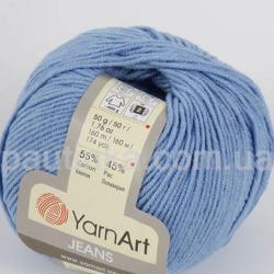 Yarn Art Jeans (Джинс Ярнарт) 15 голубой
