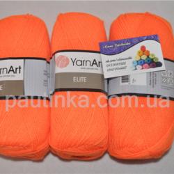 Пряжа Ярнарт Элит - YarnArt Elite оранжевый