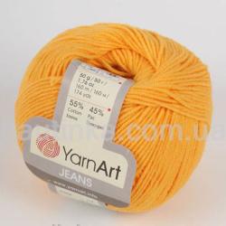 Yarn Art Jeans (Джинс Ярнарт) 35 желтый