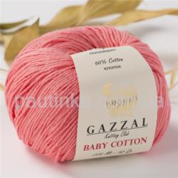 Gazzal Baby Cotton (Газзал беби коттон) 3435 коралл