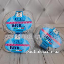 Фулл БББ (Full BBB) 100% итальянский меринос - 9501 серый светлый