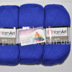 Пряжа Ярнарт Элит - YarnArt Elite 64 синий