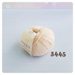 Gazzal Baby Cotton (Газзал беби коттон) 3445 бежевый