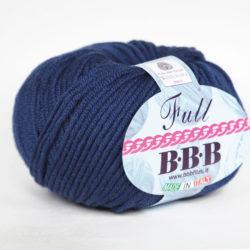 Фулл БББ (Full BBB) 100% итальянский меринос - 9509 темно синий