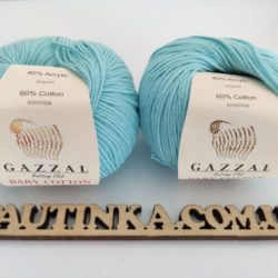 Gazzal Baby Cotton (Газзал беби коттон) 3451 бирюза