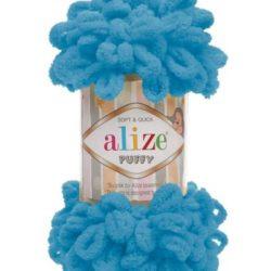Alize Puffy (Пуффи Ализе) 16 бирюза - упаковка 5 мотков