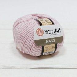 Yarn Art Jeans (Джинс Ярнарт) 18 бледно-розовый