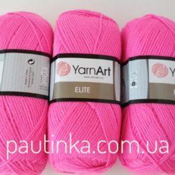 Пряжа Ярнарт Элит - YarnArt Elite 174 ярко розовый