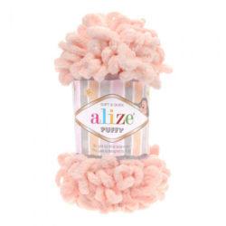 Alize Puffy (Пуффи Ализе) 340 пудра - упаковка 5 мотков