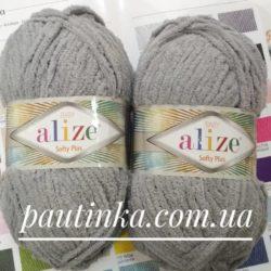 Пряжа Alize Softy Plus (Софти плюс) - 296 серый