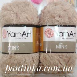 меховая пряжа YarnArt Mink (Минк) - 331 бежевый