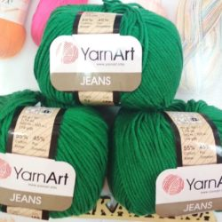 Yarn Art Jeans (Джинс Ярнарт) 52 зеленый