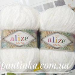 Пряжа Alize Softy Plus (Софти плюс) - 55 белый