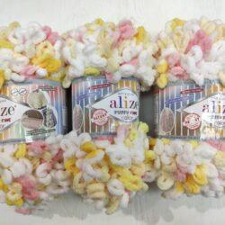 Alize Puffy fine (Пуффи файн Ализе) 5942 - упаковка 5 мотков