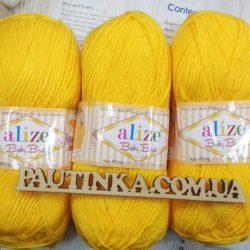Baby Best (Беби бест) антипиллинг акрил - 216 желтый