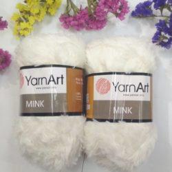 меховая пряжа YarnArt Mink (Минк) - 330 натуральный