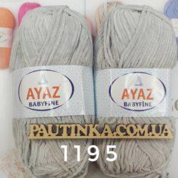 Ayaz Baby fine - 1195 св.серый