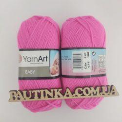 Baby Yarnart - 174 ярко розовый