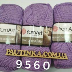 Merino de Luxe 50 - 9560 фиолет