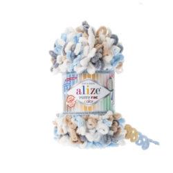 Alize Puffy fine (Пуффи файн Ализе) 5946 - упаковка 5 мотков