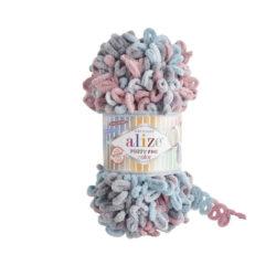 Alize Puffy fine (Пуффи файн Ализе) 6041 - упаковка 5 мотков