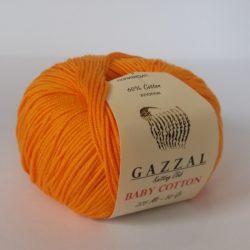 Gazzal Baby Cotton (Газзал беби коттон) 3416 оранжевый