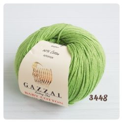 Gazzal Baby Cotton (Газзал беби коттон) 3448 зеленый
