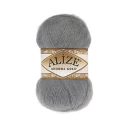 ANGORA GOLD Alize (Ангора Голд) - 402 серый