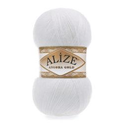 ANGORA GOLD Alize (Ангора Голд) - 55 белый