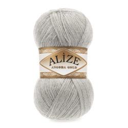 ANGORA GOLD Alize (Ангора Голд) - 652 серый светлый