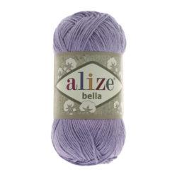 Bella Alize (Белла) - 158 фиолет - хлопковая пряжа