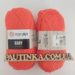 Baby Yarnart - 8279 оранжевый