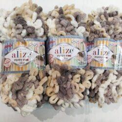 Alize Puffy fine (Пуффи файн Ализе) 6034 - упаковка 5 мотков