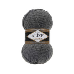 Лана голд (Alize Lana Gold) 182 серый темный