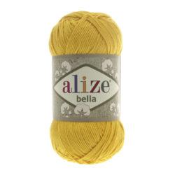 Bella Alize (Белла) - 488 желтый - хлопковая пряжа