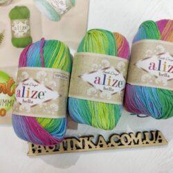 Bella Alize batik (Белла) 4151 - хлопковая пряжа