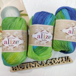 Bella Alize batik (Белла) 4150 - хлопковая пряжа (Копировать)