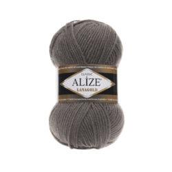 Лана голд (Alize Lana Gold) 348 темно-серый