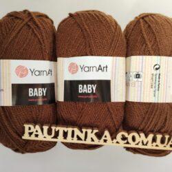 Baby Yarnart - Беби - 1182 шоколад