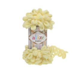 Alize Puffy (Пуффи Ализе) 13 светло-желтый