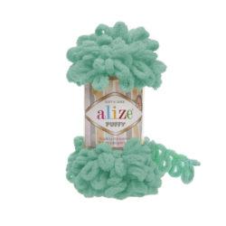 Alize Puffy (Пуффи Ализе) 490 зеленый ментол