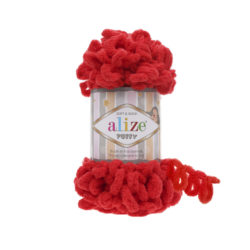 Alize Puffy (Пуффи Ализе) 56 красный