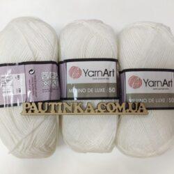 Merino de Luxe 50 - 501 белый