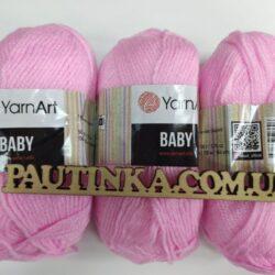 Baby Yarnart - Беби - 217 розовый