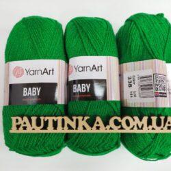 Baby Yarnart - Беби - 338 зеленый
