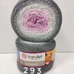 Пряжа Flowers Yarnart (Ярнарт Фловерс) - 293